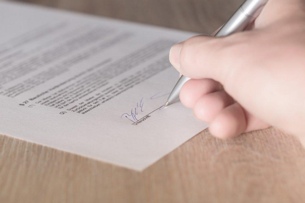 ovjera potpisa kod javnog bilježnika